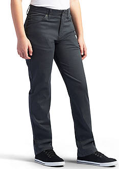 Lee X-Treme Comfort Straight Leg Charcoal Pant Boys 8-20