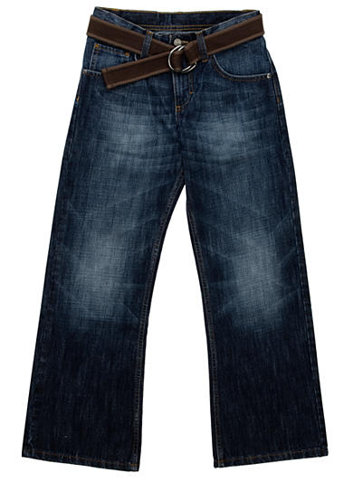 Lee® Dungaree Belted Relaxed Bootcut Jean - Boys 8-20