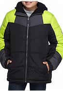 Pacific Trail Heavy Weight Color Block Puffer