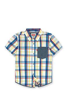 Levi's® One-Pocket Woven Shirt Boys 4-7