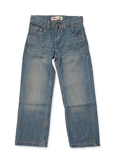 Levi's® 505 Slim Regular Denim Blue Jeans Boys 4-7