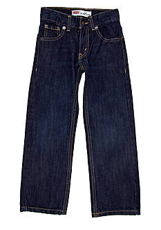 Levi's 505 Slim Regular Denim Blue Jeans Boys 4-7