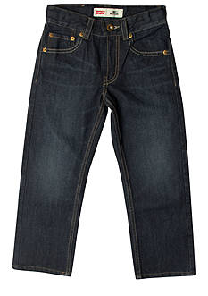 Levi's 505 Regular Fit Jeans For Boys 4-7