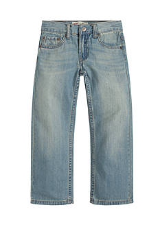 Levi's® 505 Regular Blue Jeans Husky Boys 8-20