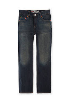 Levi's® 514 Straight Blue Husky Jeans Boys 8-20