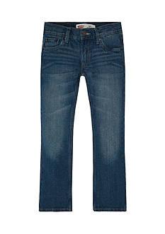Levi's 527 Boot Cut Denim Blue Jeans Boys 8-20