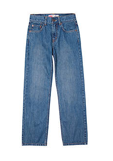 Levi's 550 Relaxed Denim Blue Jeans Boys 8-20