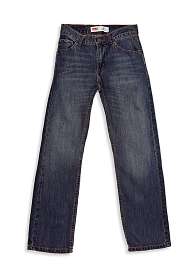 Levi's® 505 Regular Blue Jeans Slim Boys 8-20