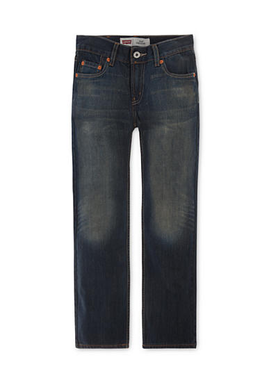 Levi's® 514 Straight Blue Slim Jeans Boys 8-20