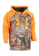Under Armour® Solid Real Tree Hoodie Boys 4-7