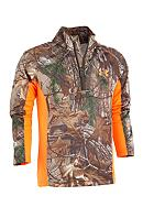 Under Armour® Realtree Hunting Raglan Zip