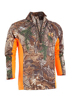 Under Armour Realtree Hunting Raglan Zip Pullover Boys 4-7