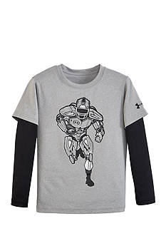 Under Armour® Machine Slider Active Shirt Boys 4-7