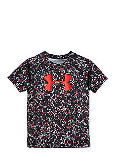 Under Armour Mega Micro Camo Raglan Tee Boys 4-7