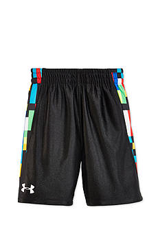 Under Armour® Pixel Zoom Multi Reversible Shorts Boys 4-7