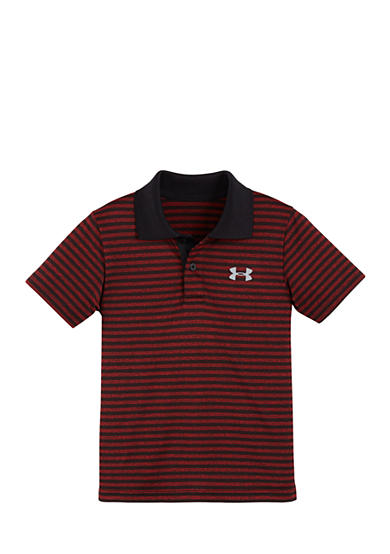Under Armour® Stripe Polo Shirt Boys 4-7