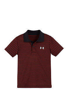 Under Armour Stripe Polo Shirt Boys 4-7