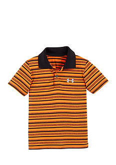 Under Armour Playoffs Stripe Yarn Die Polo Boys 4-7