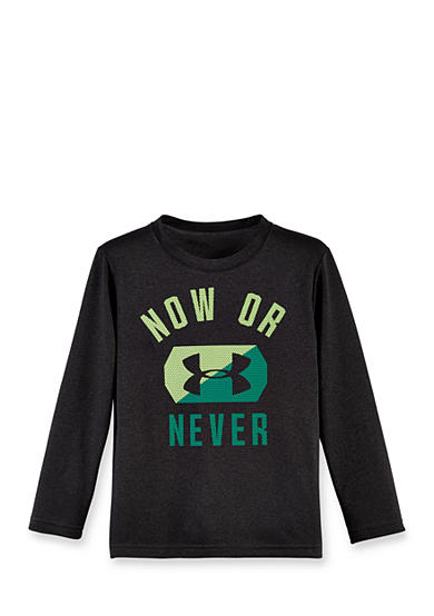 Under Armour® Now Or Never Long Sleeve Tee Boys 4-7