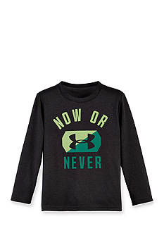 Under Armour Now Or Never Long Sleeve Tee Boys 4-7