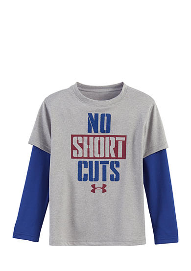 Under Armour® 'No Short Cuts' Layered Tee Boys 4-7