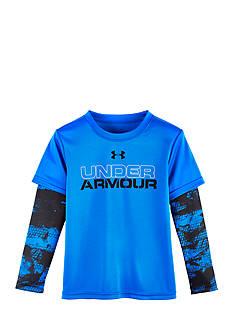 Under Armour Cracked Slider Long Sleeve Tee Boys 4-7