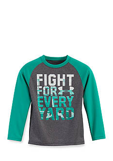 Under Armour® Fight For Every Yard Long Sleeve Tee Boys 4-7