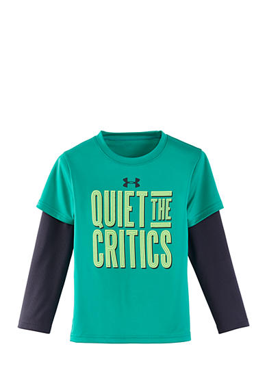 Under Armour® Quiet The Critics Slider Tee Boys 4-7