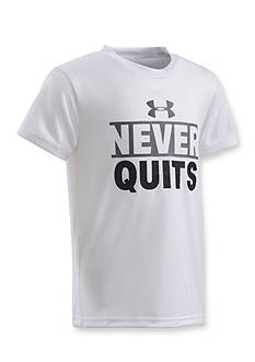 Under Armour® Never Quits Tee Boys 4-7