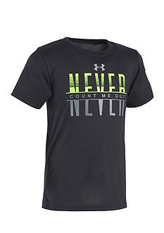 Under Armour Never Count Me Out Tee Boys 4-7