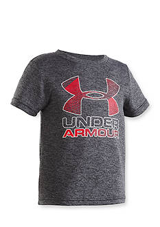 Under Armour® Big Logo Twist Tee Boys 4-7