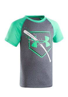 Under Armour® Breaking Bat Raglan Tee Boys 4-7