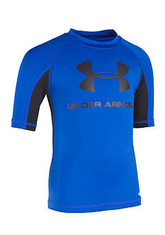 Under Armour Ultra Blue Rashguard Boys 4-7