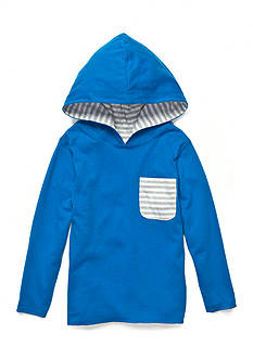 J. Khaki Reversible Pocket Hoodie Boys 4-7
