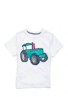 J. Khaki Short Sleeve Novelty Crew Neck Tee Boys 4-7