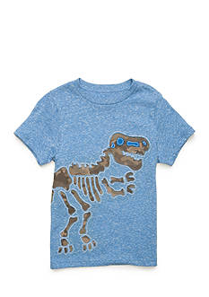 J. Khaki Novelty Crew Neck Tee Boys 4-7