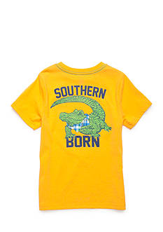 J. Khaki Southern Born Novelty Crew Short Sleeve Tee Boys 4-7