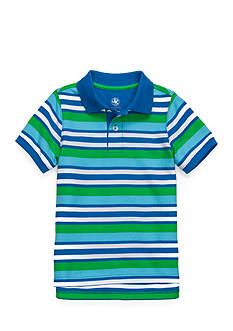 J. Khaki Stripe Polo Boys 4-7