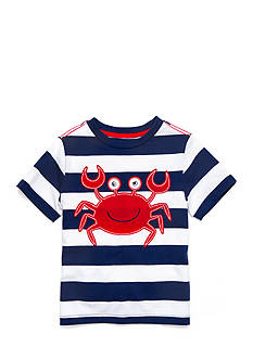 J. Khaki® Stripe Novelty Crew Tee Boys 4-7