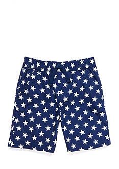 J. Khaki Printed Pull-On Short Boys 4-7