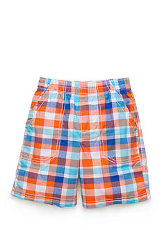 J Khaki™ Plaid Shorts Boys 4-7