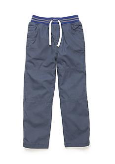 J. Khaki Canvas Pull-On Pants Boys 4-7