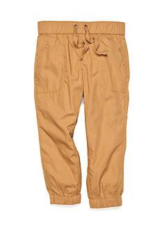 J. Khaki Woven Jogger Pants Boys 4-7