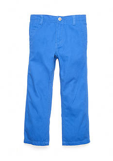 J. Khaki Twill Pant Boys 4-7