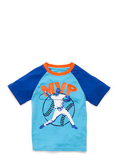 J Khaki™ Short Sleeve Novelty Raglan Tee Boys 4-7