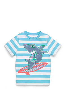 J Khaki™ Short Sleeve Stripe Novelty Tee Boys 4-7