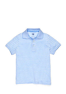 J Khaki™ Short Sleeve Stripe Oxford Polo Boys 4-7