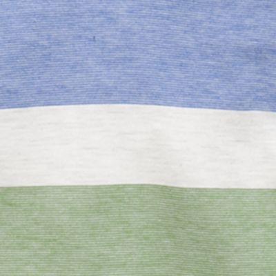 Baby & Kids: Sweaters Sale: Green Stripe J. Khaki Jersey Pullover Hoodie Boys 4-7