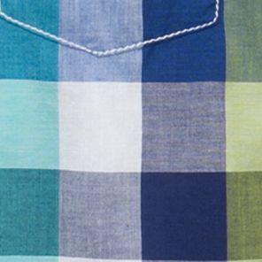Baby & Kids: Button Front Sale: Blue J. Khaki Plaid Woven Shirt Boys 4-7