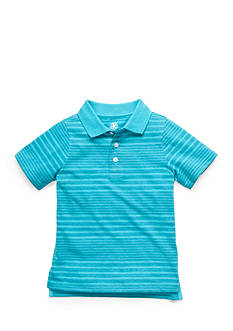 J. Khaki Stripe Polo Boys 4-7